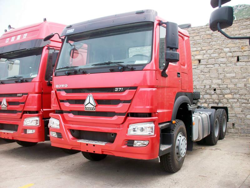 Sinotruk HOWO 6X4 371HP Prime Mover Truck / Heavy Duty